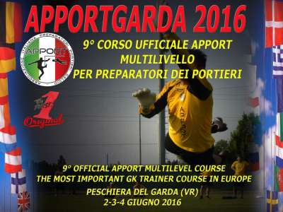 APPORTGARDA2016: CORSO INTERNAZIONALE PER ALLENATORI DEI PORTIERI