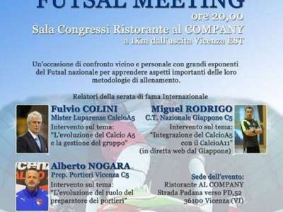 FUTSAL MEETING A VICENZA