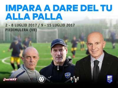 CAMP 2017:IMPARA A DARE DEL TU ALLA PALLA