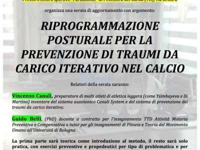 RIPROGRAMMAZIONE POSTURALE PER LA PREVENZIONE DI TRAUMI DA CARICO ITERATIVO NEL CALCIO