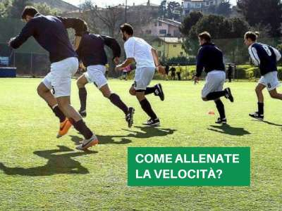 LO SPRINT TRAINING NEL CALCIO