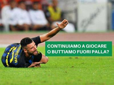 CALCIO E FAIR PLAY: L'UOMO A TERRA
