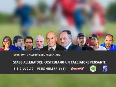 STAGE ALLENATORI: COSTRUIAMO UN CALCIATORE PENSANTE